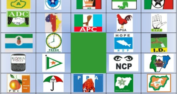 List Of Political Parties In Nigeria Since Independence