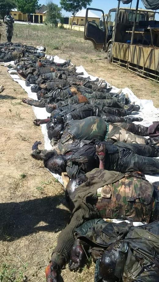 List Of Nigerian Soldiers Killed By Boko Haram