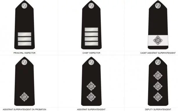 Nigeria Police Ranks And Symbols In Picture