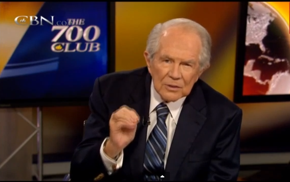 The 700 Club - Pat Robertson