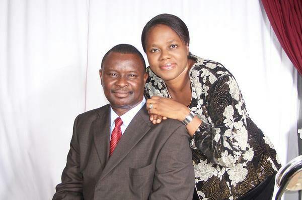 Mike Bamiloye and wife Gloria Bamiloye