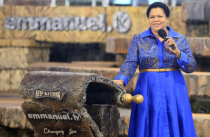 Prophet TB Joshua's wife