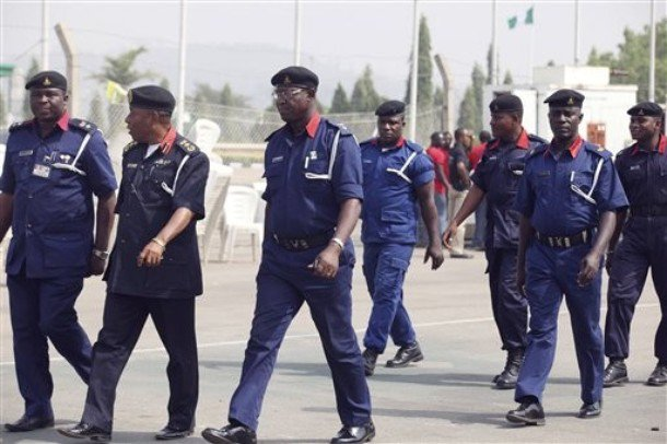 The Nigeria Security and Civil Defense Corps (NSCDC)