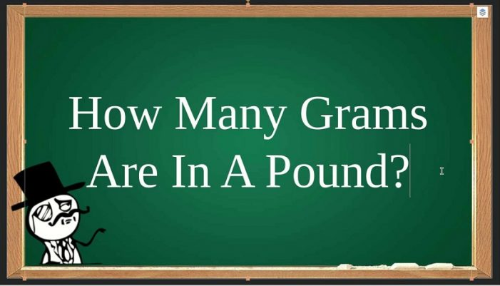How Many Grams Are In 1 Pound?