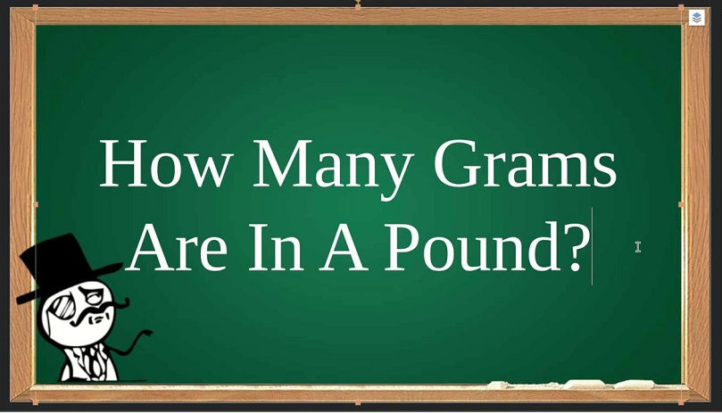 How Many Grams Are In 1 Pound