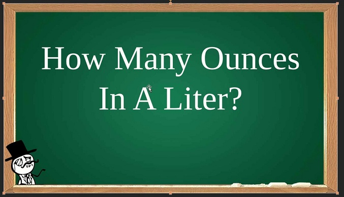 How Many Ounces Is In A Liter