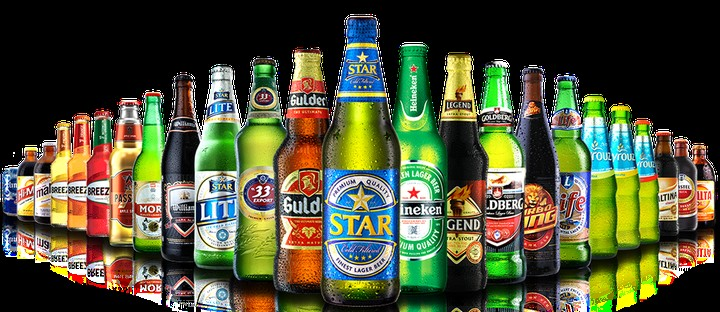 Nigeria Brewery Products