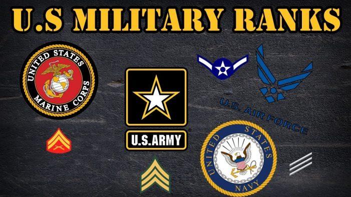 U.S. Army Salary By Ranking