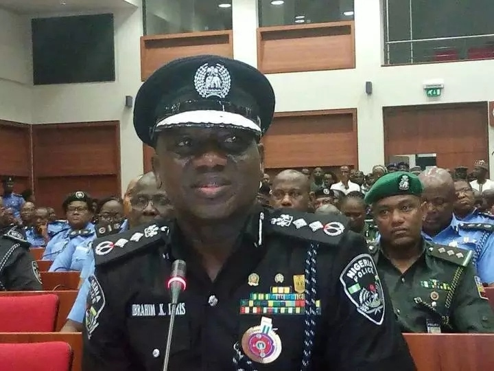 Nigeria Present Inspector General Of Police (IG) - Ibrahim Kpotun Idris