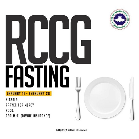 Download 2019 RCCG Fasting & Prayer Guide/Prayer Points