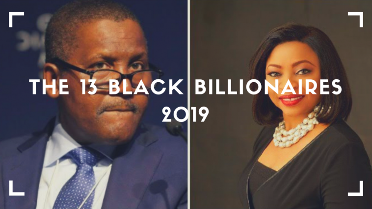The Black Billionaires 2019