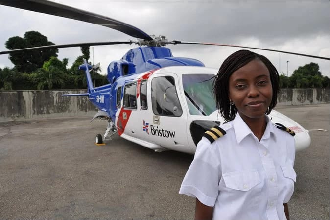 Nigerian First Women - Captain Abimbola Jayeola