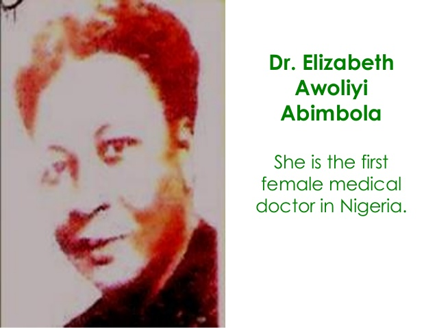 Nigeria's First Women In Different Professions
