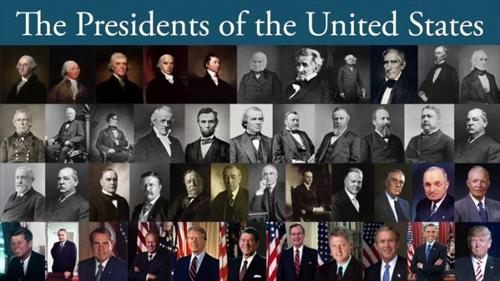 List Of Presidents Of The United States And Their Years In Office
