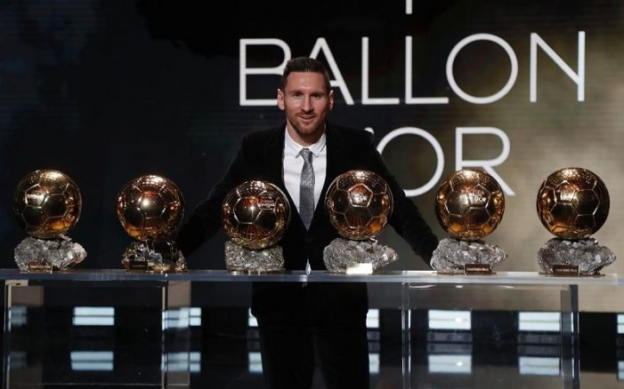 Ballon d'Or 2019 Winner: Messi Wins His 6th Ballon d'Or