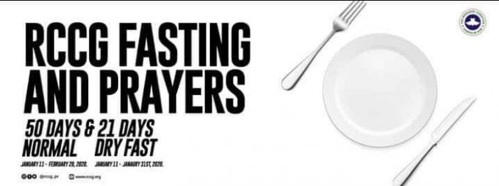 RCCG 2020 Fasting and Prayer Guide