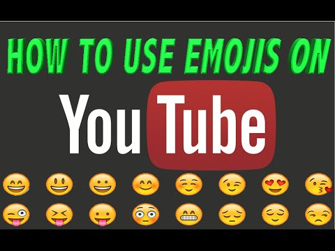 How To Insert Emojis In A YouTube Comment On A Laptop/Desktop PC?