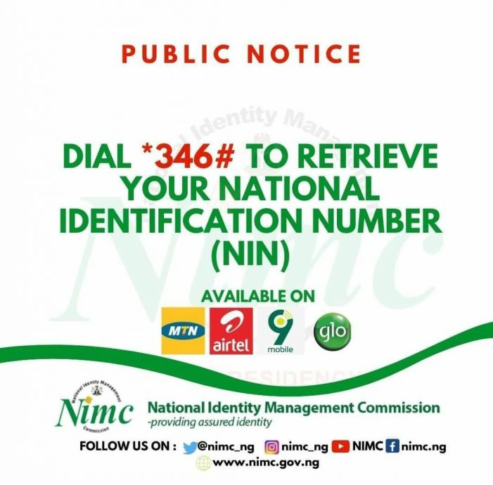 Nigeria National Identification Number (NIN) Enrolment Centres In United States of America