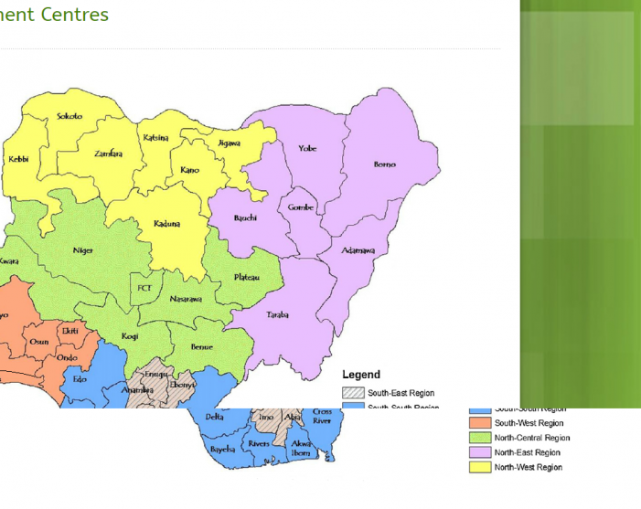 List Of All National Identity Management Commission (NIMC) Enrolment Centres